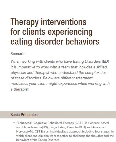 Therapy Interventions Picture